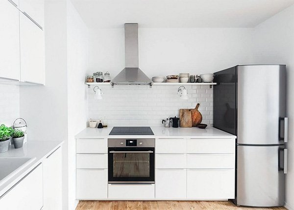 Minimalist Kitchen Design for Small Spaces