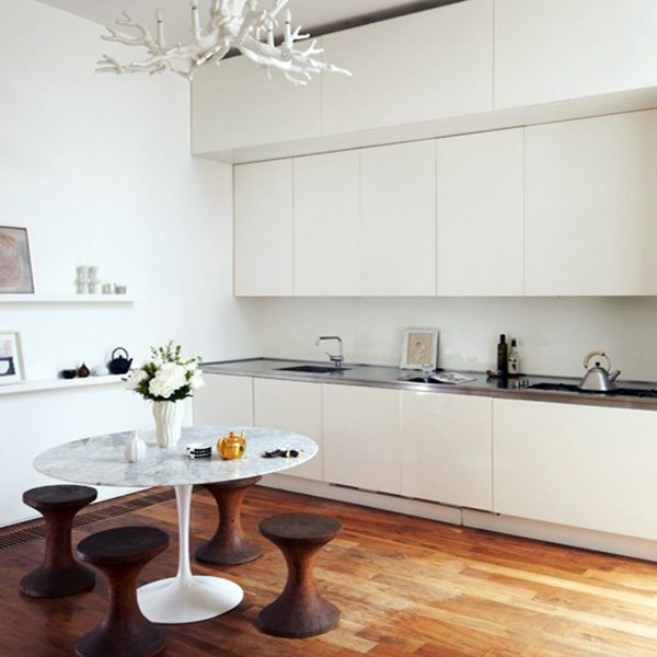 stylish open kitchen with minimalist touch
