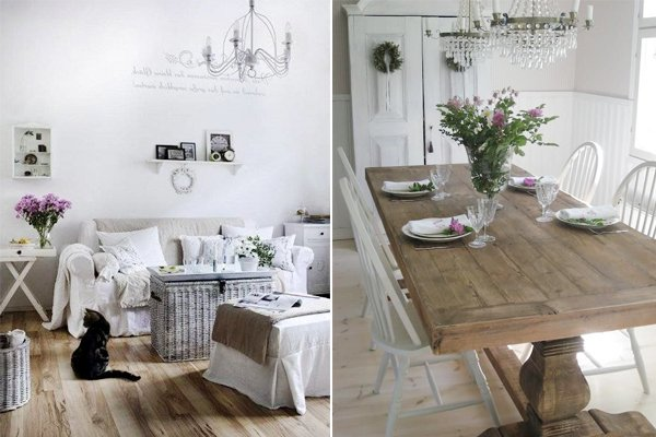 summer shabby decor